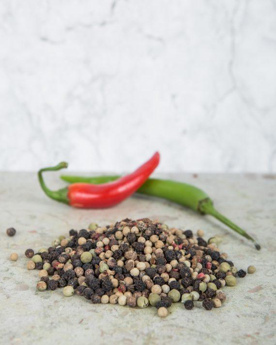 Fem peppar