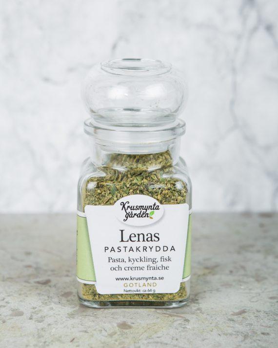 Lenas pastakrydda glas
