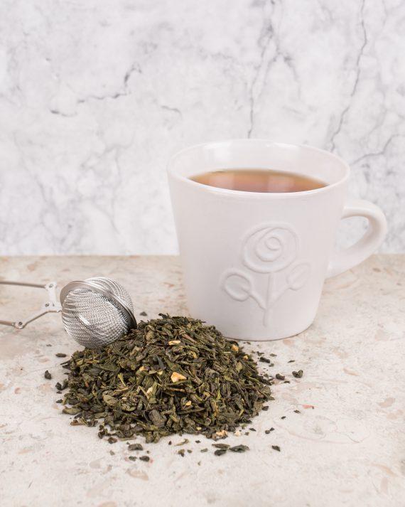 Ingefära grönt te