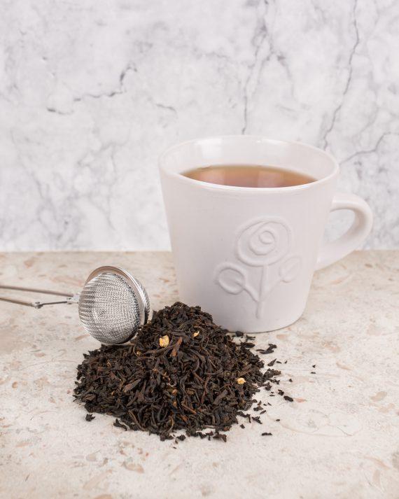 Ingefära svart te